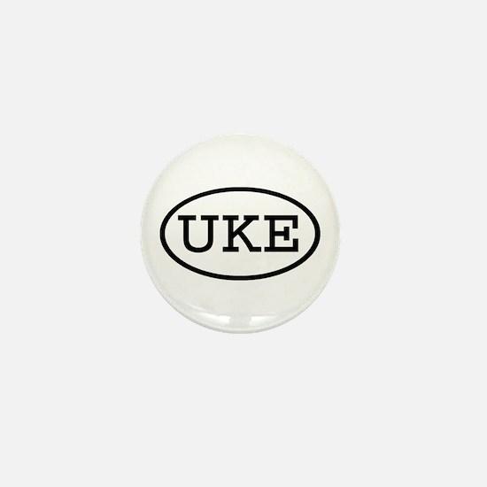 UKE Oval Mini Button