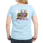 PROUD TO BE A SENIOR Women's Pink T-Shirt