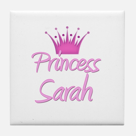 Princess Sarah Tile Coaster