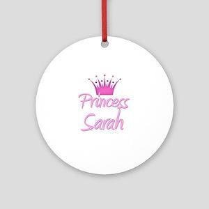 Princess Sarah Ornament (Round)