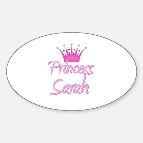 Princess Sarah Oval Decal