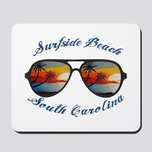 South Carolina - Surfside Beach Mousepad