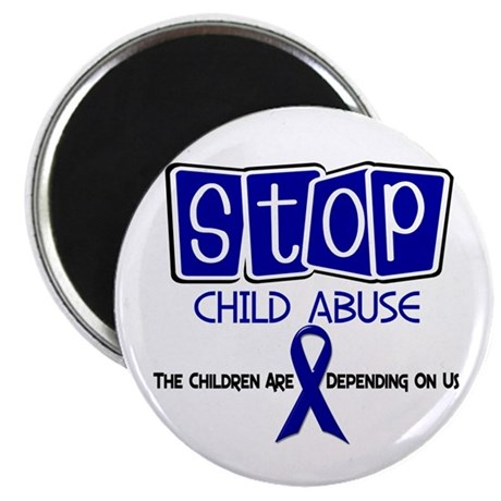 Stop Child Abuse 1 Magnet