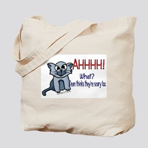 Scary Kitty Tote Bag