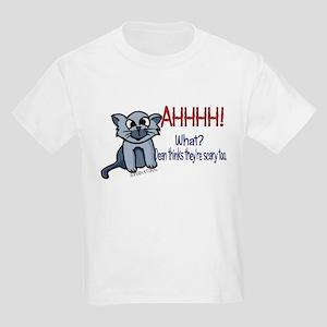 Scary Kitty Kids Light T-Shirt