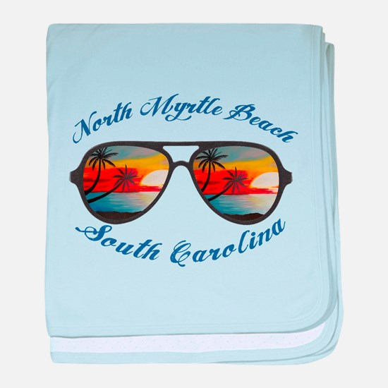 South Carolina - North Myrtle Beach baby blanket