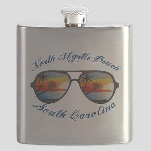 South Carolina - North Myrtle Beach Flask