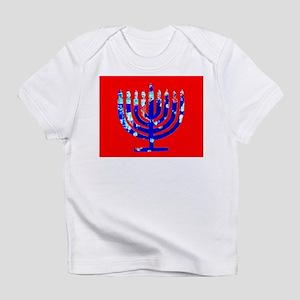 Blue Red Menorah 4Rebecca T-Shirt