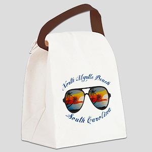 South Carolina - North Myrtle Bea Canvas Lunch Bag