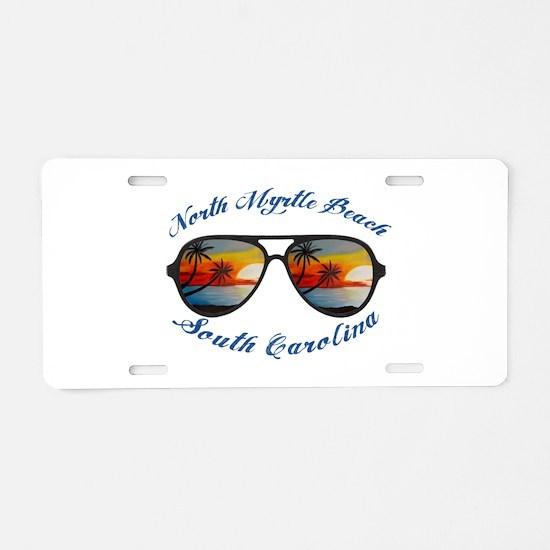 South Carolina - North Myrt Aluminum License Plate