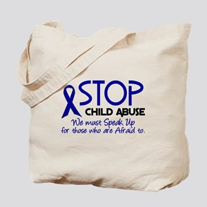 Stop Child Abuse 2 Tote Bag