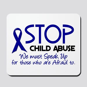 Stop Child Abuse 2 Mousepad