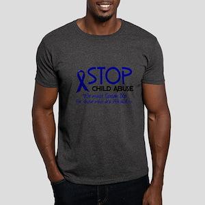 Stop Child Abuse 2 Dark T-Shirt