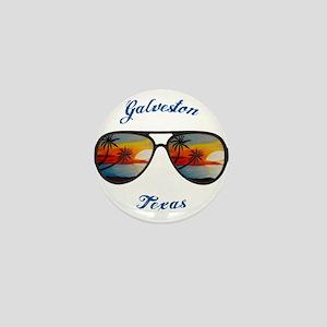 Texas - Galveston Mini Button