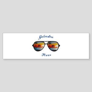 Texas - Galveston Bumper Sticker