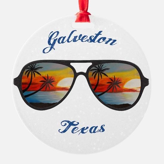Texas - Galveston Ornament