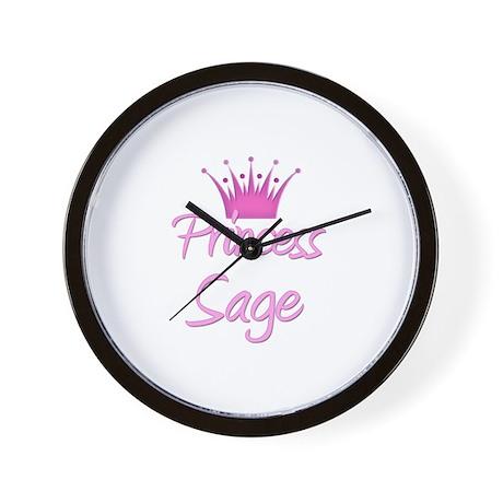 Princess Sage Wall Clock