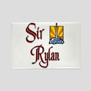 Sir Rylan Rectangle Magnet