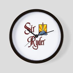 Sir Ryder Wall Clock
