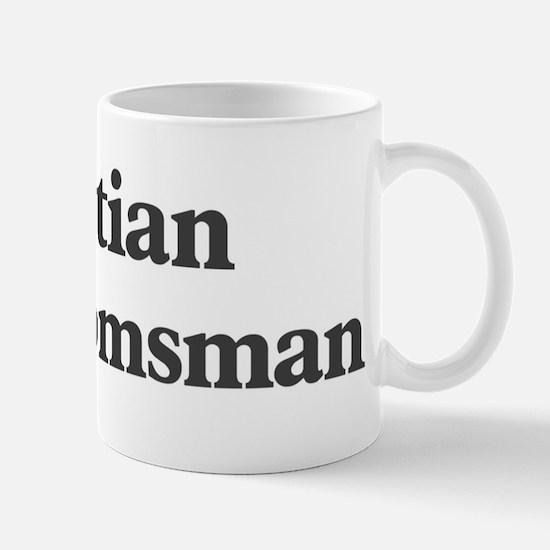 Kristian the groomsman Mug