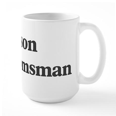 Jayson the groomsman Large Mug