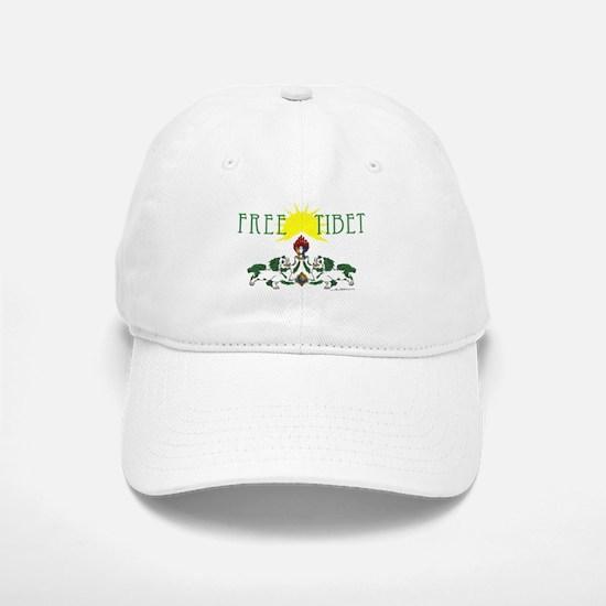 Free Tibet Baseball Baseball Cap