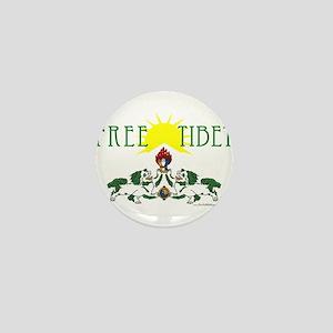 Free Tibet Mini Button