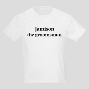 Jamison the groomsman Kids Light T-Shirt