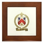 PINARD Family Crest Framed Tile