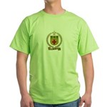 PLANTE Family Crest Green T-Shirt