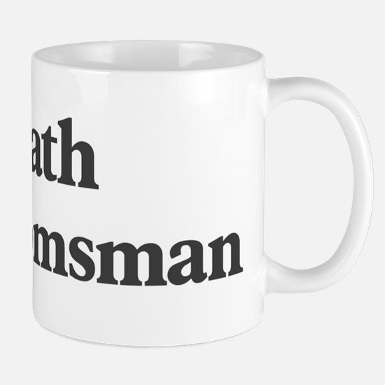 Heath the groomsman Mug
