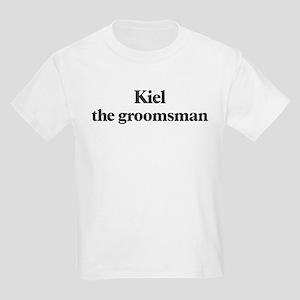 Kiel the groomsman Kids Light T-Shirt
