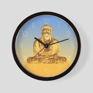 Buddha Graphic Wall Clock