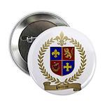 POITRAS Family Crest Button