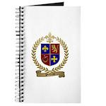 POITRAS Family Crest Journal