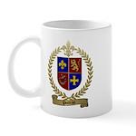POITRAS Family Crest Mug