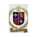 POITRAS Family Crest Rectangle Magnet (100 pack)