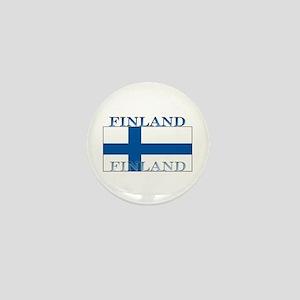 Finland Finish Flag Mini Button