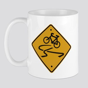 Dangerous riding cycling Mug