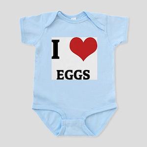 I Love Eggs Infant Creeper