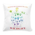 Tracks Of Turtle Island Wildlife Everyday Pillow