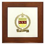 PRONOVOST Family Crest Framed Tile