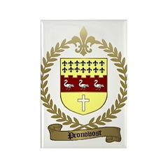 PRONOVOST Family Crest Rectangle Magnet