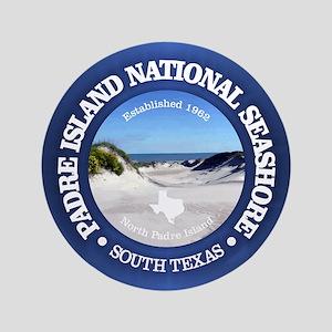 "Padre Island National Seashore 3.5"" Button"