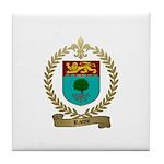 RACINE Family Crest Tile Coaster