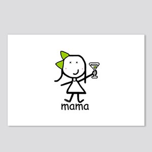 Martini - Mama Postcards (Package of 8)