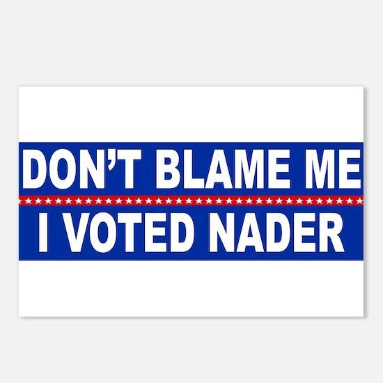 Cute Nader Postcards (Package of 8)