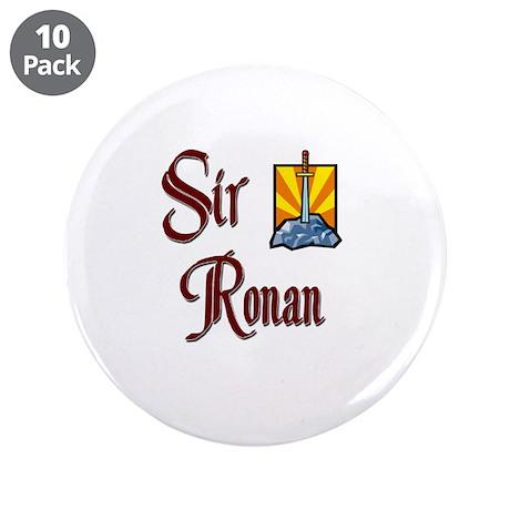 """Sir Ronan 3.5"""" Button (10 pack)"""