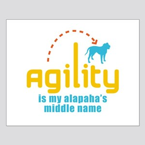 Alapaha Blue Blood Bulldog Small Poster
