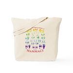 Tracks of North American Mammals Tote Bag